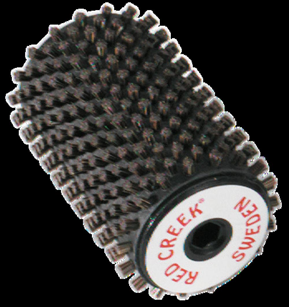 RED CREEK Nylon-Rotorbürste schwarz 10 mm