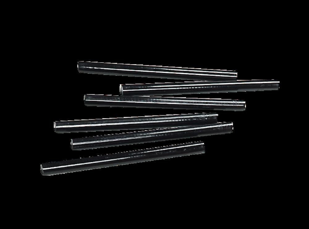 Belagreparaturstifte schwarz 11,5 x 160 mm (10 Stk.)