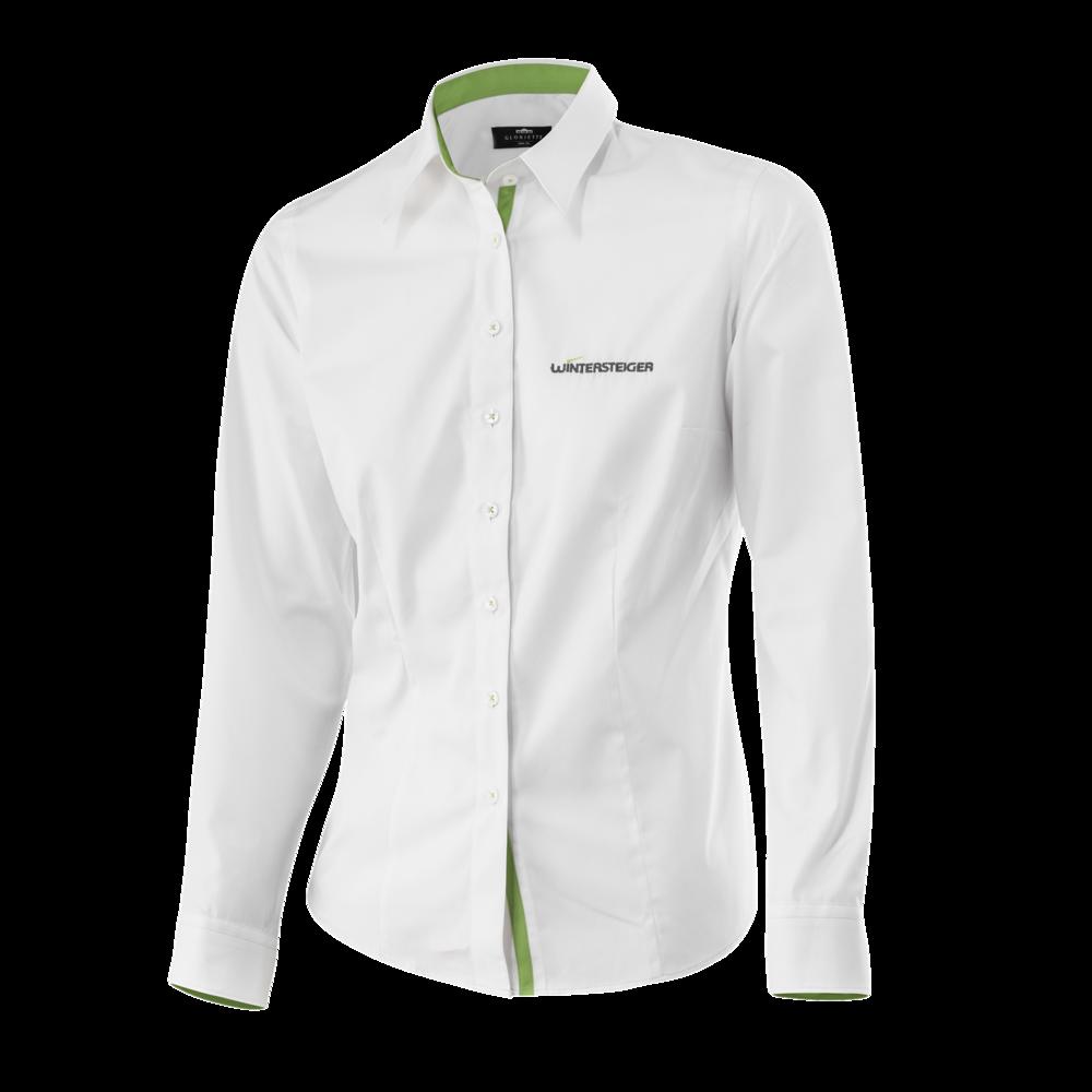 Wintersteiger Damen Langarm-Hemd, weiß