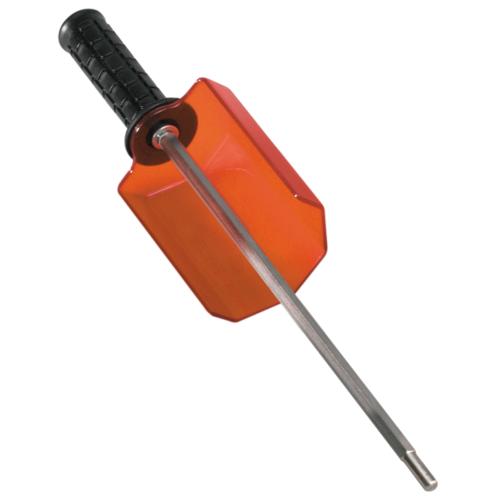 RED CREEK Rotorbürsten-Doppelhalter Alpin mit einfacher Schutzhaube