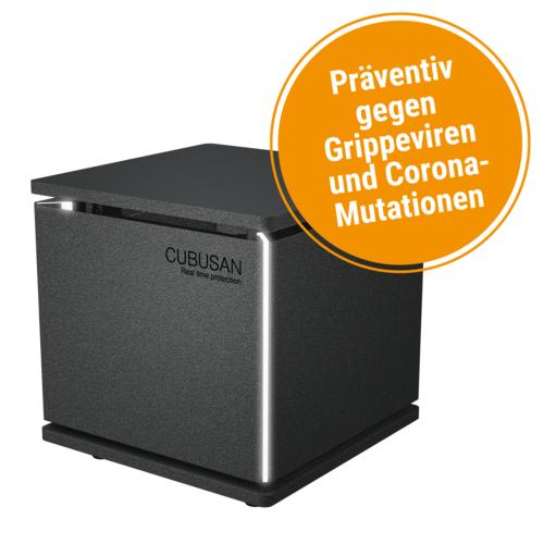 Luftreiniger Cubusan CP-70 schwarz, 230 V AC, 50 Hz